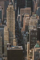 5th Avenue (Piotr_PopUp) Tags: 5thavenue midtown manhattan empirestatebuilding esb newyorkcity nyc fromabove aerial buildings building architecture street streetphotography traffic us usa