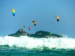Kitesurf barra da tijuca RJ (-Rodolfrito-) Tags: riodejaneiro janeiro de rio rj tijuca barra barradatijuca kitesurfing kitesurf