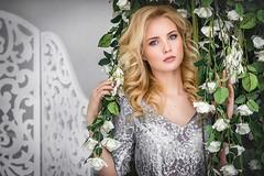 ****** (TatianaAntoshina) Tags: portrait eyes flowers roses beauty glamour people woman