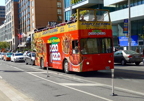 Sightseeing bus, Toronto, Canada