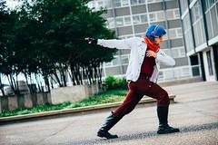 Falco Lombardi (btsephoto) Tags: cosplay costume play  animefest afest anime convention dallas texas sheraton hotel fuji fujifilm xt1 yongnuo yn560 iii flash portrait falco lombardi star fox  nintendo video games fujinon xf 56mm f12 r lens