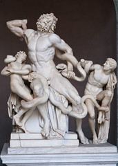 Laocoon statue in Vatican Museum (chrisdingsdale) Tags: laocoon italian statue greek rome day medieval monument historical capital vatican marble roman papal palace antic sculpture italy classic art ancient old antique outdoor style museum