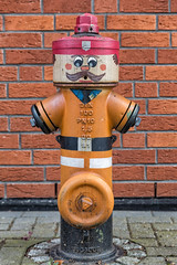 Firefighter (Hyloo) Tags: hydrant firefighter wasser water