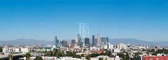 Downtown LA Skyline (HunterKerhart.com) Tags: downtownlaskyline dtla downtownla downtownlosangeles losangeles architecture development construction urban la
