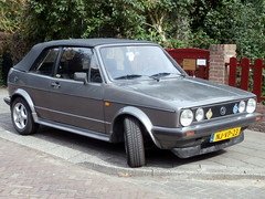 Volkswagen Golf 1 cabrio 1986 nr2414 (a.k.a. Ardy) Tags: njvp23 softtop