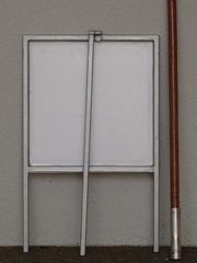 whenIm64 (renedepaula) Tags: metal frame pole wall urban city sampa saopaulo brasil brazil sign