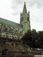 Sint-Maartenskathedraal (Roelofs fotografie) Tags: nikon d3200 wilfred roelofs belgium building old arches briks heritage 2016 ww1 arch architecture sintmaartenskathedraal church faith outdoor ypres adobe