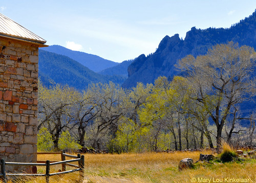Photo - Historic Dunn House and entrance to Eldorado Canyon