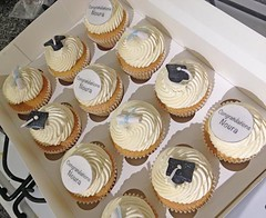 Graduation Congratulations Cupcakes