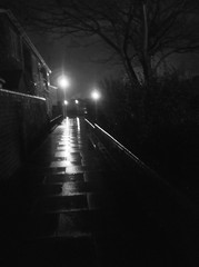 (spratpics) Tags: england rain night teesside billingham northeastengland spookymagic teessideengland artworkbypaulwalker blackwhitephotographybypaulwalker spookyartworkandphotographybypaulwalker
