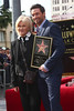 Deborra-Lee Furness, Hugh Jackman Hugh Jackman is honoured with a Hollywood Star on the Hollywood Walk of Fame Los Angeles, California