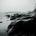 Sea Cliff at Dusk