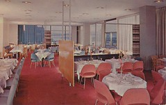 United Nations - New York, New York (The Pie Shops Collection) Tags: newyorkcity newyork vintage restaurant postcard united 1956 nations delegates