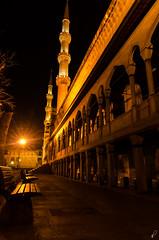 Lit (Empty Quarter) Tags: longexposure blue architecture night turkey nikon minaret istanbul mosque tokina ottoman f28 sultanahmet 1116 d7000