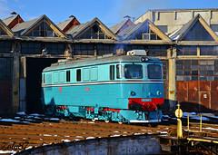 60-1345-2 (Zoly060-DA) Tags: green design diesel swiss romania locomotive 60 marfa cfr 2100 sulzer livery dej 1345 060da triaj