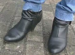 Stiefel Dezember 2012 (barfußsandra) Tags: toes barefoot amputee stiefel barfus
