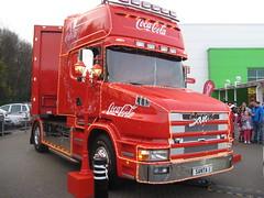 SANTA 1 - Coca Cola Lorry on Tour (graham19492000) Tags: santa christmas asda portsmouth cocacola waterlooville santa1 cocacolalorry