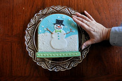 Snow Globe Cookie Gram