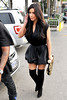 Kim Kardashian leaving Kung Pao Bistro in West Hollywood with her boyfriend Los Angeles, California