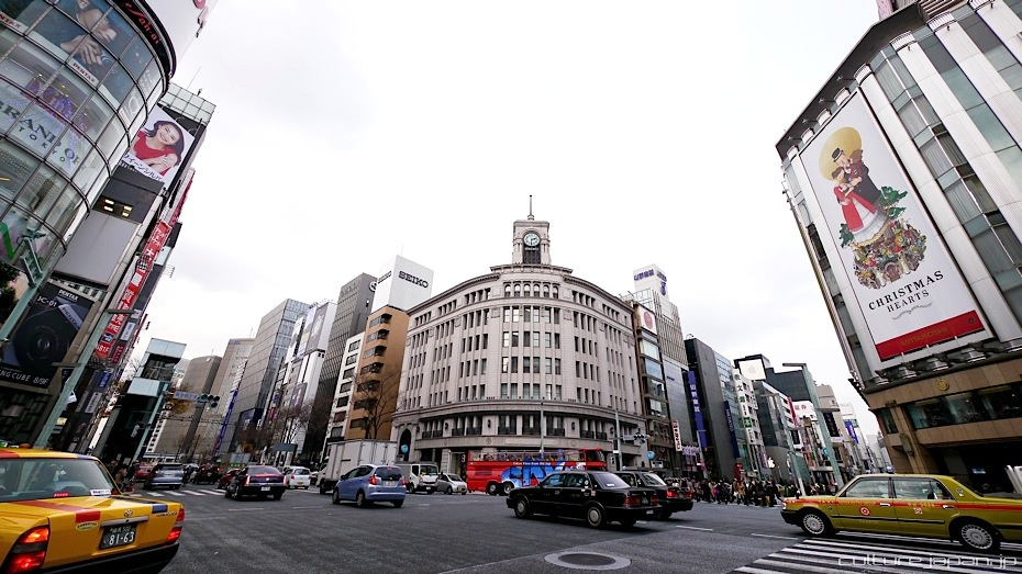 Ginza in the Winter