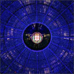Natale Ambrosiano (M Luca) Tags: christmas city milan lights gallery milano luci natale galleria vittorioemanueleii