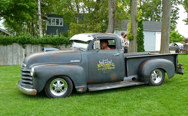 rust michigan rusty hotrod harborsprings streetrod ratrod chevypickuptruck chopped1951chevroletratrodpickuptruck