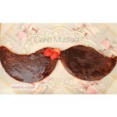 cake mustash (RENAD AL-NUQIDAN ,  ) Tags: pink cake time cupcake mustash            muctach