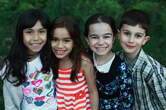 Les enfants | The kids | Los nios (Eric Dupuis) Tags: girls portrait people canada kids children four cuat
