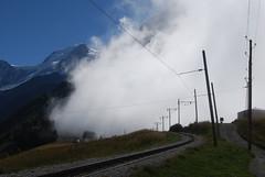Le Tramway du Mont Blanc (J_Piks) Tags: alps chamonix tramway montblanc