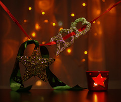 2013 (trelistonisi) Tags: new happy star candle bokeh year ribbon 2013