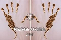 Henna Art by Khalidah Abdullah (khalidahabdullah) Tags: design henna hennaart حنه حناء khalidahabdullah