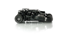 Tumbler (pitrek02) Tags: dark dc lego space batman knight gotham batmobile the moc tumbler kmfl lugpol