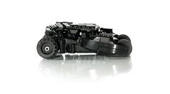 Tumbler (pitrek02) Tags: dark dc lego space batman knight gotham batmobile the moc tumbler kmfl lugpol