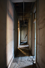 Down A Ways (Samantha Pugsley) Tags: school building abandoned architecture decay haunted exploration urbex urbanex