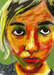 Charvel (Gila Mosaics n'stuff) Tags: portrait art female artist marker artrage portraitparty jkpp jkpp2013