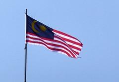 Bandera de Malasia (RiveraNotario) Tags: malasia malaysia edificiomalasia bandera flag riveranotario