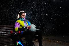 Montse - Rain (EsteveSegura) Tags: original portrait rain shop wow amazing team inn long board drop diamond apex skate longboard 40 sole montse dorp segura esteve strobist dropinn