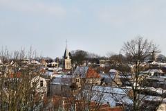 """Uitzicht vanaf molen """"de Roode Leeuw"""" (WindwalkerNld) Tags: winter snow sneeuw uitzicht centrum roode gouda rode koud leeuw deroodeleeuw binnenstad 2013 ondernul barbaratoren"""