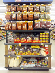 Paradise: chile products in New Mexico grocery store (stshank) Tags: newmexico chile greenchile redchile