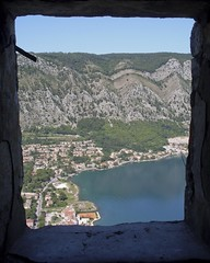 View from the fortress (Linus Wrn) Tags: mountains unesco balkans fortress montenegro kotor crnagora