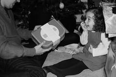 christmas 2012 9 (Meg Halton) Tags: christmas family blackandwhite amy gift surprise