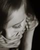 childs Eyleshes Upclose Portrait (Shelley Pixley Photography) Tags: blackandwhite girl child eyelashes closedeye