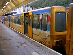 Tyne & Wear Metro: 4038 Airport (emdjt42) Tags: airport newcastleairport tynewearmetro 4038