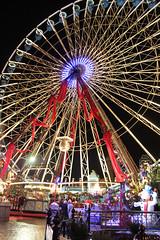 Christmas Market in Lille (sarahstierch) Tags: christmas xmas france wheel lights amusement market ferris lille