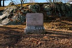 Speaks for Itself (Bud in Wells, Maine) Tags: winter monument cemetery reading massachusetts gravestones laurelhillcemetery