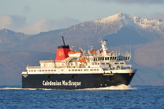 MV CALEDONIAN ISLES,Heading For Ardrossan This Morning (Time Out Images) Tags: scotland clyde north isles mv firth caledonian ayrshire ardrossan of ayrshirecoast