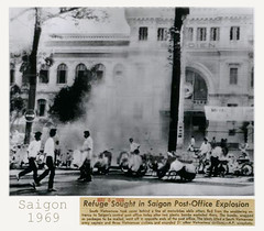1969 Press Photo - Saigon Post-Office Explosion - Vụ nổ tại Bưu điện Saigon (manhhai) Tags: 1969 explosion postoffice saigon