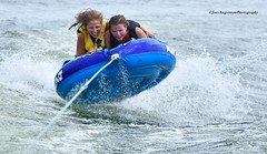 A and E 5 (Joey Angstman) Tags: missouri ozarks lake boat boating action actionphotography sport sportphotography nikon nikonphotography girl girls tubing