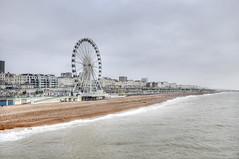 "Brighton in winter • <a style=""font-size:0.8em;"" href=""http://www.flickr.com/photos/45090765@N05/27995715784/"" target=""_blank"">View on Flickr</a>"