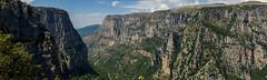Vikos Gorge (Akis TzeStarr) Tags: vikos gorge mountain ioannina epirus greece nikon d3100 35mm prime lens landscape